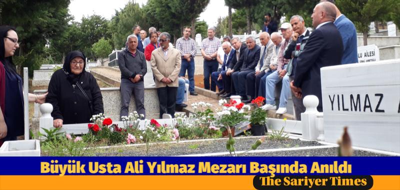 Onursal Başkan Ali Yılmaz Mezarı Başında Anıldı