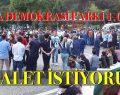 ADALET İSTİYORUZ MAÇKA DEMOKRASİ PARKI