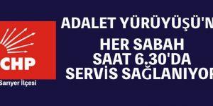 HER SABAH 6.30'DA OTOBÜSLER KALKACAK