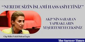 """""""NEREDE SİZİN İSLAMİ HASSASİYETİNİZ"""""""