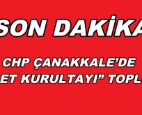 """CHP ÇANAKKALE'DE """"ADALET KURULTAYI"""" TOPLUYOR"""