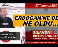 """NE DEDİYSE TERSİ OLDU"" AVRASYA, MARMARAY ÇÖZÜM OLMADI"