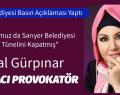 Sarıyer Belediyesi Basın Duyurusu