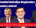 İSAR'ın İstanbul Belediye Başkanları Performansları Anketi