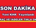 """""""YENİ KHK"""" BİNLERCE KİŞİ İHRAÇ EDİLDİ"""