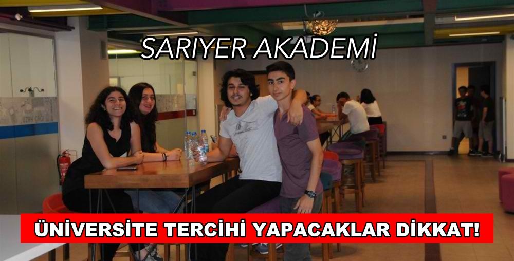 ÜNİVERSİTE TERCİHİ YAPACAKLAR DİKKAT!