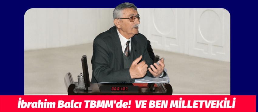 """VE BEN MİLLETVEKİLİ """"İbrahim Balcı ve Didem Engin"""""""