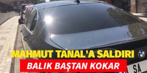 CHP MV.MAHMUT TANAL'A SALDIRI