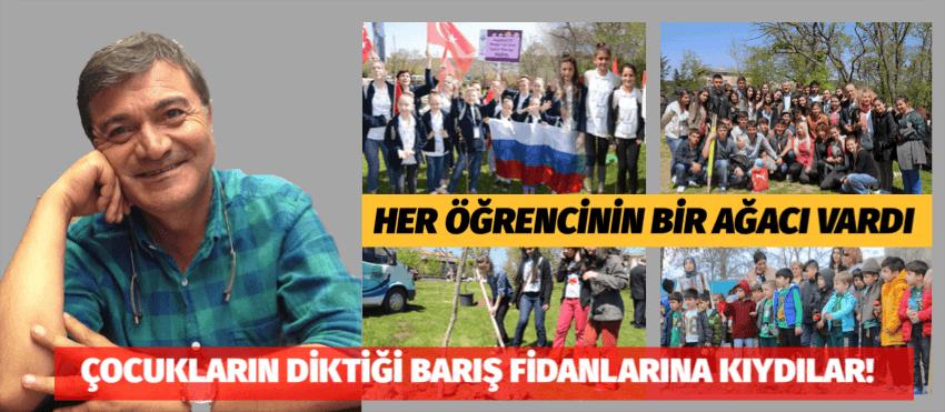 İBB BARIŞ FİDANLARINI KESTİ!