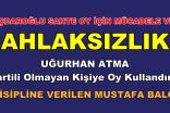 BU KARARI ALANLAR CHP'Lİ OLAMAZ