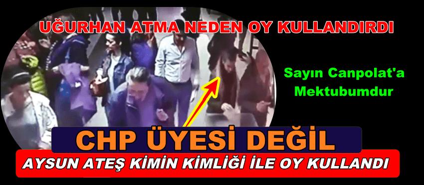 """""""Sayın Canpolat"""" CHP SARIYER'DE BU KADAR HİLEYE GEREK VARMIYDI?"""