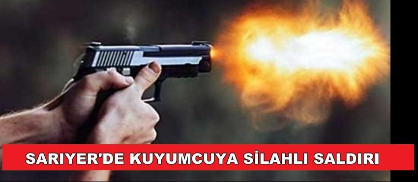 SARIYER'DE KUYUMCUYA SİLAHLI SALDIRI