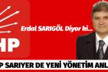 CHP SARIYER DE YENİ YÖNETİM ANLAYIŞI.