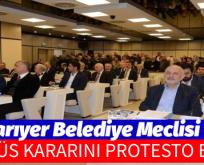 KÜDÜS KARARINI PROTESTO ETTİ