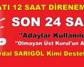 SARIYER'DE SON 24 SAAT