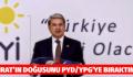 FIRAT'IN DOĞUSUNU PYD/YPG'YE BIRAKTINIZ MI?