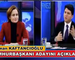 Canan Kaftancıoğlu, Cumhurbaşkanı Adayını Açıkladı