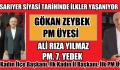 GÖKAN ZEYBEK PM ÜYESİ OLDU