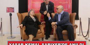 YAŞAR KEMAL SARIYER'DE ANILDI