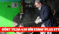 DÖRT YILDA 430 BİN ESNAF İFLAS ETTİ