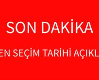 ERKEN SEÇİM TARİHİ AÇIKLANDI