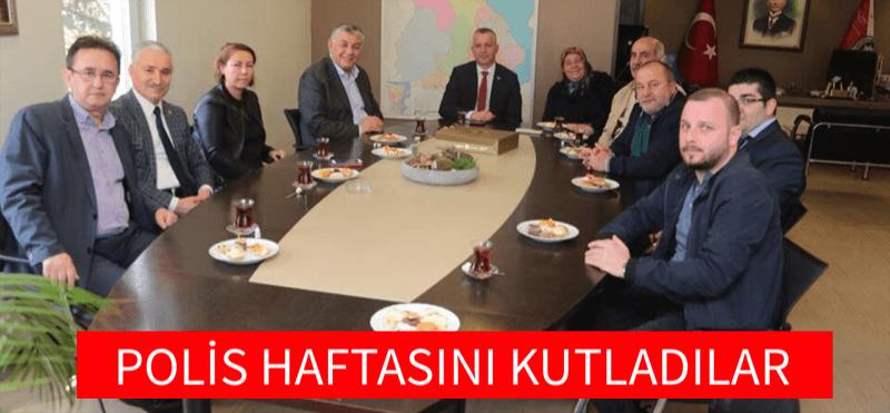 POLİS HAFTASINI KUTLADILAR