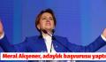 Meral Akşener, adaylık başvurusu yaptı