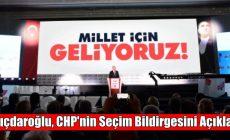 Kılıçdaroğlu, CHP'nin seçim bildirgesini açıkladı: Namus borcumuzdur