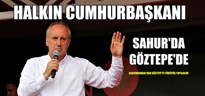 MUHARREM İNCE İSTANBUL'DA