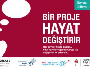 """""""BİLGİ Genç Sosyal Girişimci Ödülleri"""" başvuruları bekliyor"""