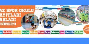 2018 Yaz Spor Okulları kayıtları başladı.