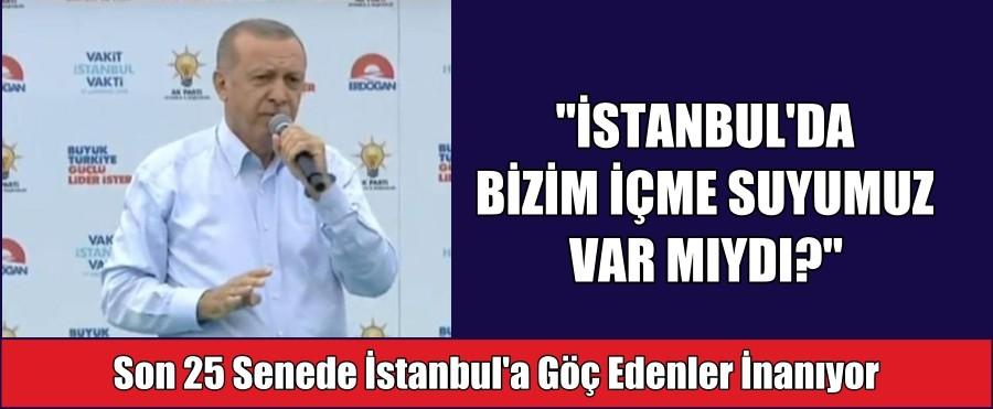 """""""İSTANBUL'DA BİZİM İÇME SUYUMUZ VAR MIYDI?"""""""