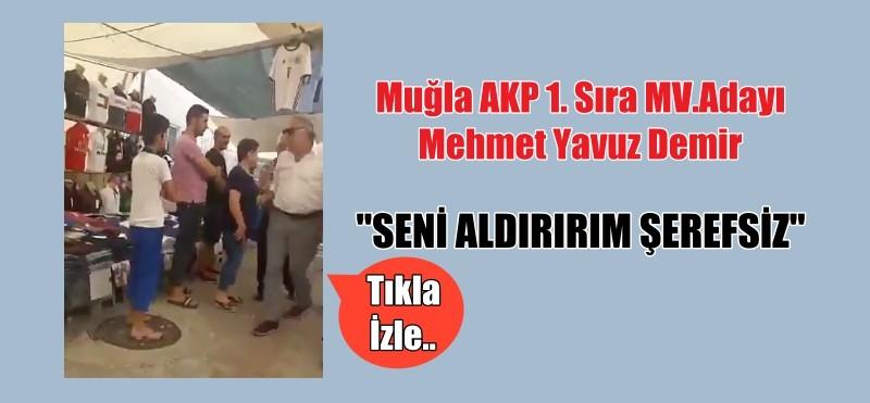 """MV. ADAYINDAN """"SENİ ALDIRIRIM ŞEREFSİZ"""""""