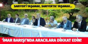 İMAR BARIŞI'NDA ARACILARA DİKKAT EDİN!