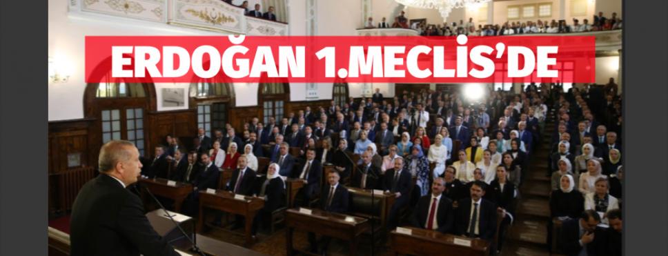 ERDOĞAN 1. MECLİSTE KABİNEYİ TOPLADI