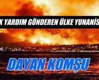 '1999 İLK YARDIM GÖNDEREN ÜLKE YUNANİSTAN'DI'