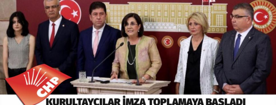 CHP'de Kurultay için imza toplanmaya başlandı!