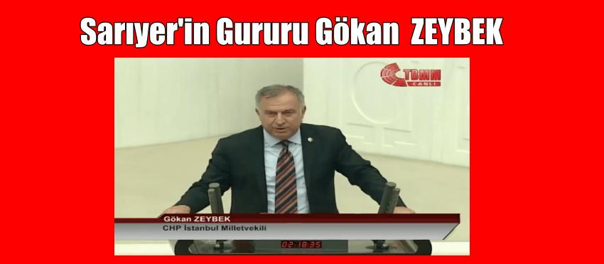 CHP MV. GÖKAN ZEYBEK YEMİN ETTİ.