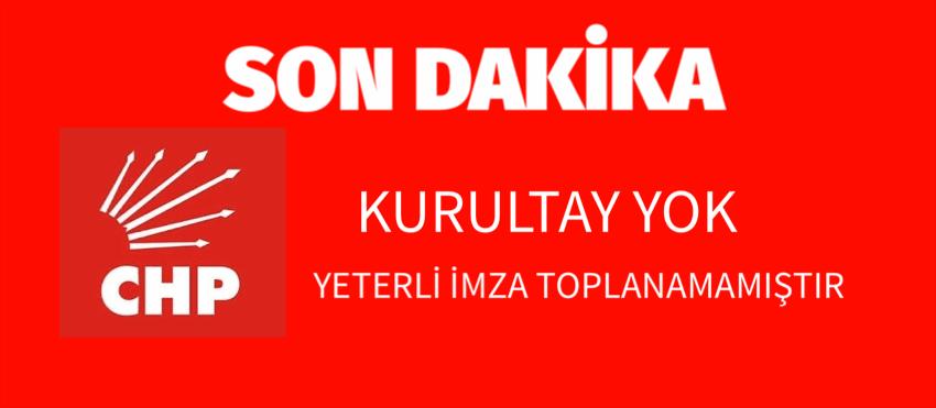 KURULTAY KARARI AÇIKLANDI
