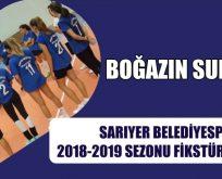 SARIYER BELEDİYESPOR'un 2018-2019 SEZONU FİKSTÜRÜ BELLİ OLDU