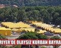 SARIYER'DE OLAYSIZ KURBAN BAYRAMI