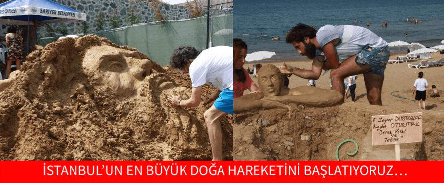İSTANBUL'UN EN BÜYÜK DOĞA HAREKETİNİ BAŞLATIYORUZ…