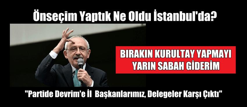 Önseçim Yaptık Ne Oldu İstanbul'da?