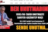 TARİH UNUTMAZ..! SARIYER-GAZİANTEP MAÇI