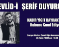 MEVLİD-İ ŞERİF DUYURUSU ..!