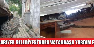 SARIYER BELEDİYESİ'NDEN VATANDAŞA YARDIM ELİ