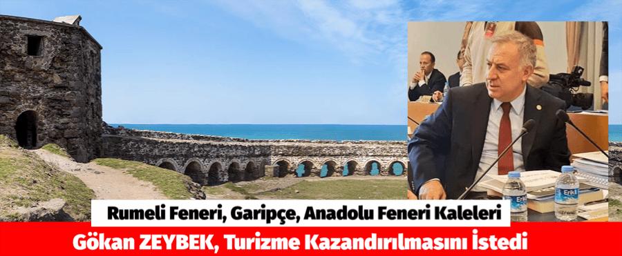 Rumeli Feneri, Garipçe, Anadolu Feneri Kaleleri Turizme Kazandırılmasını İstedi