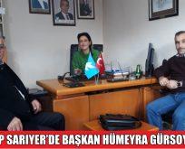 DSP SARIYER'DE BAŞKAN HÜMEYRA GÜRSOY