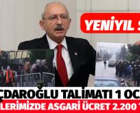 CHP BELEDİYELERİNDE ASGARİ ÜCRET 2.200 TL OLACAK