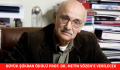 BÜYÜK ŞÜKRAN ÖDÜLÜ PROF. DR. METİN SÖZEN'E VERİLECEK
